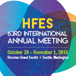 Proceedings of the HFES Annual Meeting